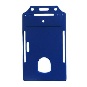 Blue Color ID Card Holder