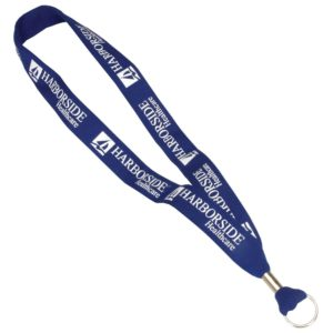 Navy Blue ID Card Lanyards