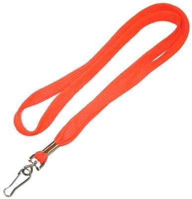 Orange ID Card Tag / Lanyards
