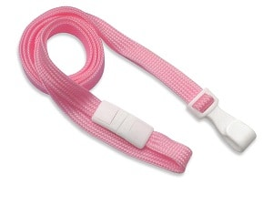 Pink ID Card Tag / Lanyards