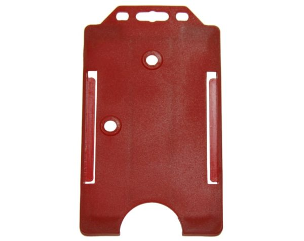 Red Color ID Card Holder
