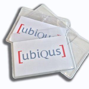 Transparent Delegate pouches