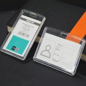 Acrylic Insert Type ID Card Holder