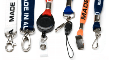 All Colour Flat Type with Different Fitting ID Card Lanyard/Tag