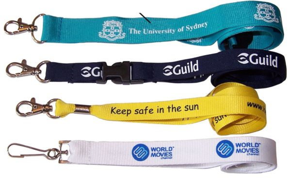 All Colour Star Type with Screen Printing ID Card Lanyard/Tag