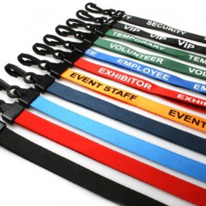 All Colour Tube Type with Clip & Plastic Fitting ID Card Lanyard/Tag