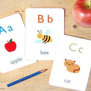 Alphabet Flash Card - Educational Equipments