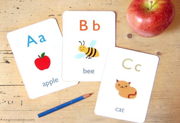 Alphabet Flash Card - Educational Equipments