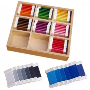 Colour Tablets - Montessori Educational Materials