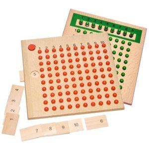 Division Strip Board - Montessori Educational Materials