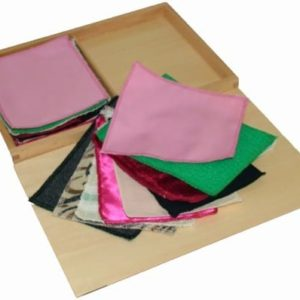 Fabric Boxes - Montessori Educational Materials