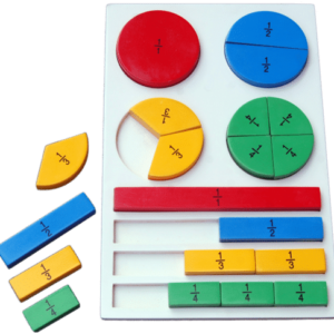 Fraction Board - Wooden Educational Equipments