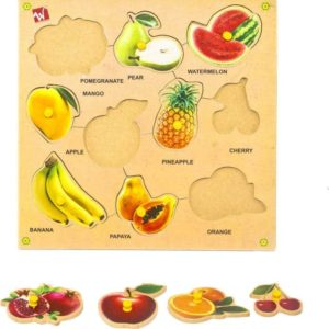 Fruits Puzzle - Educational Equipments