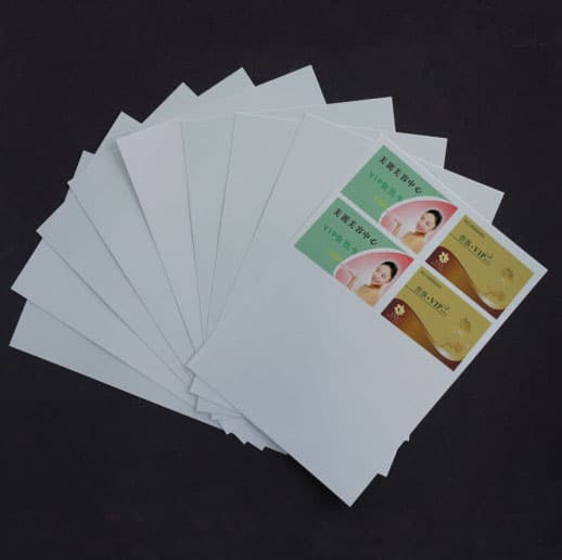 ID Card Dragon Printing Sheet