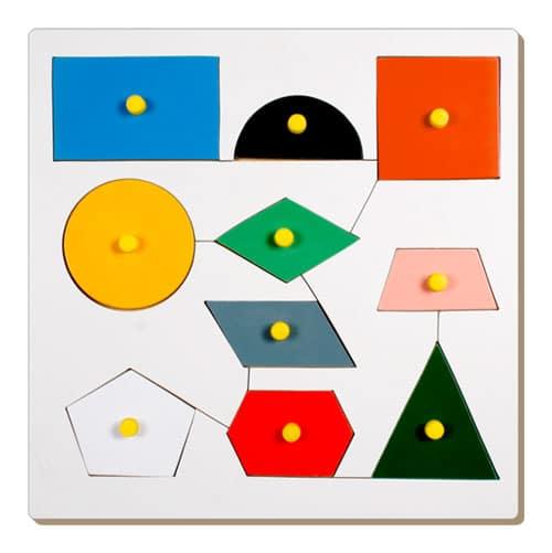 Inset Shape Board - Educational Equipments