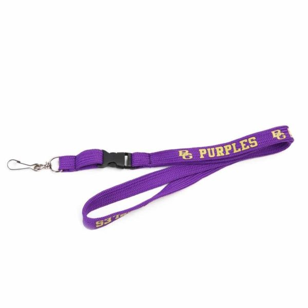 Magenta Colour Tube Type ID Card Lanyard/Tag