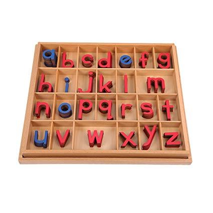 Movable Alphabet - Montessori Educational Materials