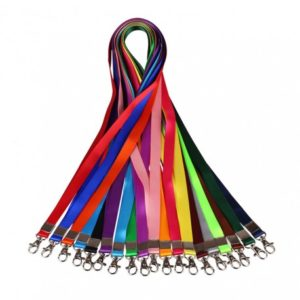 Multi Colour 12 MM ID Card Lanyard/Tag