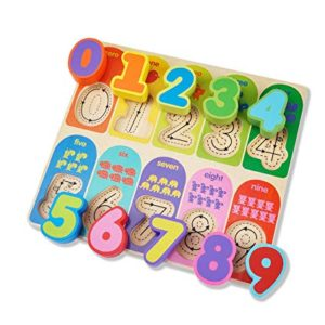 Number Puzzle - Wooden Educational Equipment