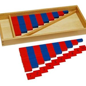 Number Rods - Montessori Educational Materials