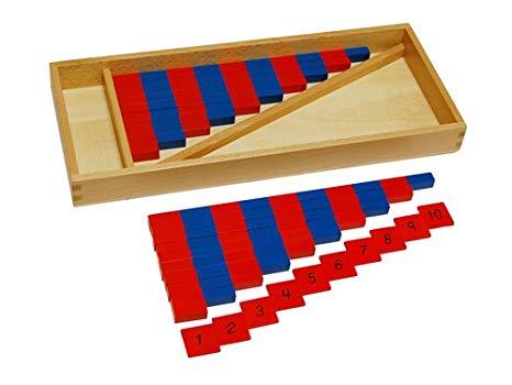 Number Rods - Montessori Educational Materials