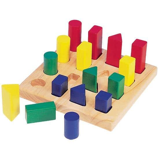 Peg A Shape - Educational Equipments