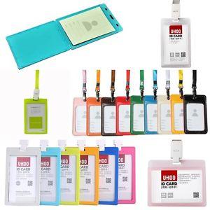 Plastic Insert Type ID Card Holder