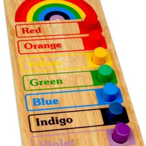 Rainbow Colour Board - Wooden Educational Equipments
