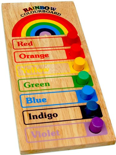Rainbow Colour Board - Wooden Educational Equipments