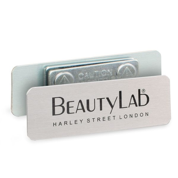 Rectangle Magnetic Badges