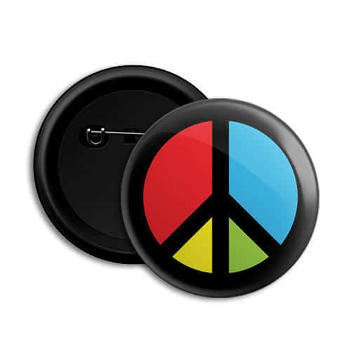 Round PVC Badges