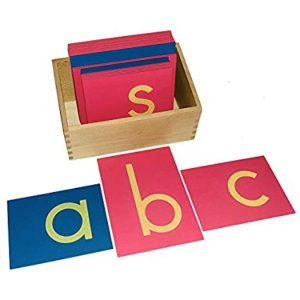 Sandpaper Letter - Montessori Educational Materials