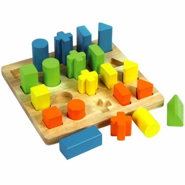 Shape Sorting Board - Educational Equipments