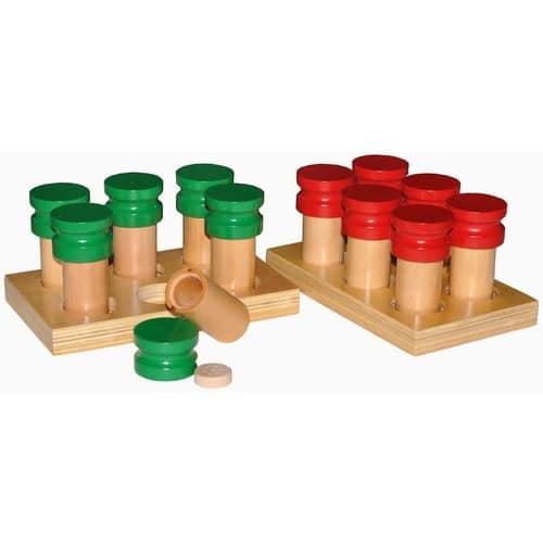 Smelling Bottles - Montessori Educational Materials