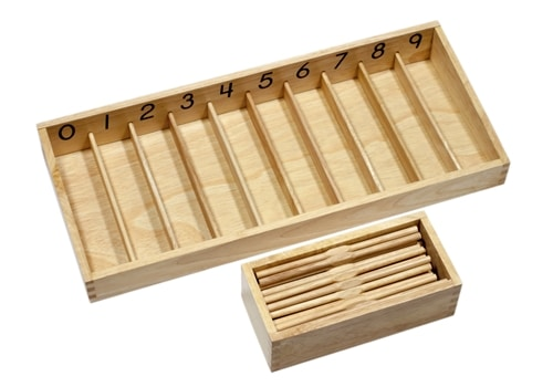Spindle Boxes - Montessori Educational Materials