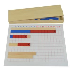 Subtraction Strip Board - Montessori Educational Materials