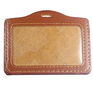 Synthetic Type Insert Model ID Card Holder