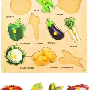 Vegetable Puzzle - Educational Equipments