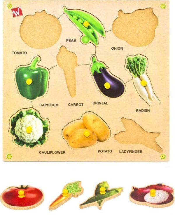 Vegetable Puzzle - Educational Equipments