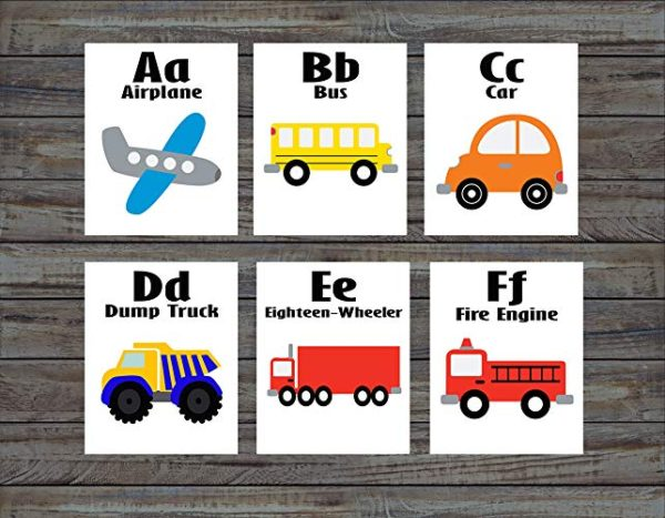 Vehicle Flash Card - Educational Equipments